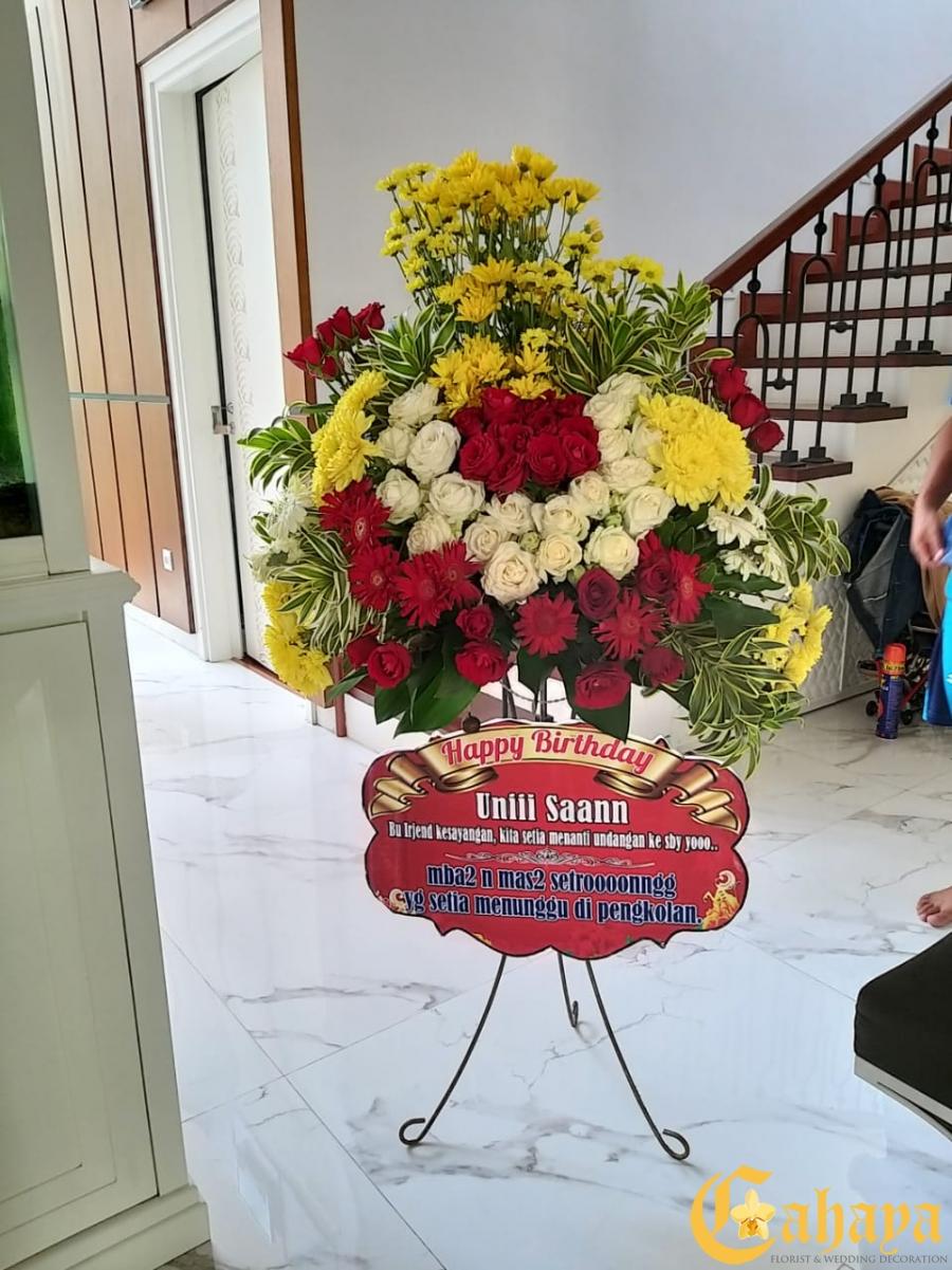 Bunga Standing Rp.500.000
