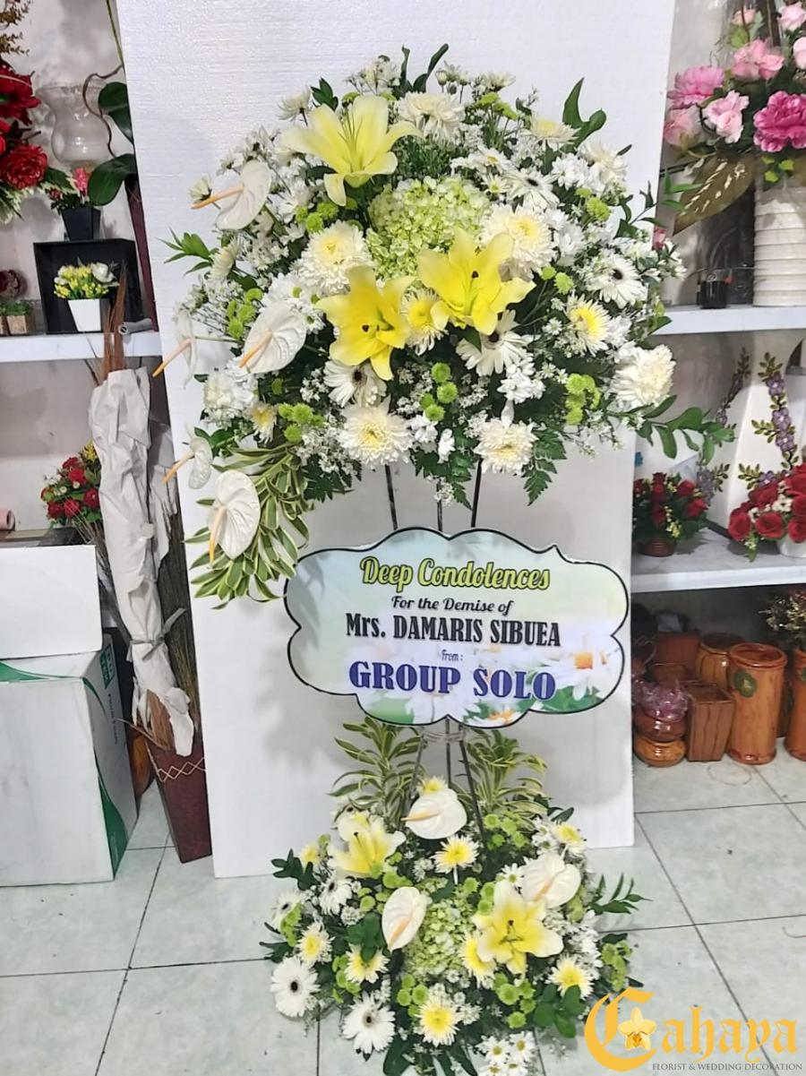 Bunga Standing Rp.800.000